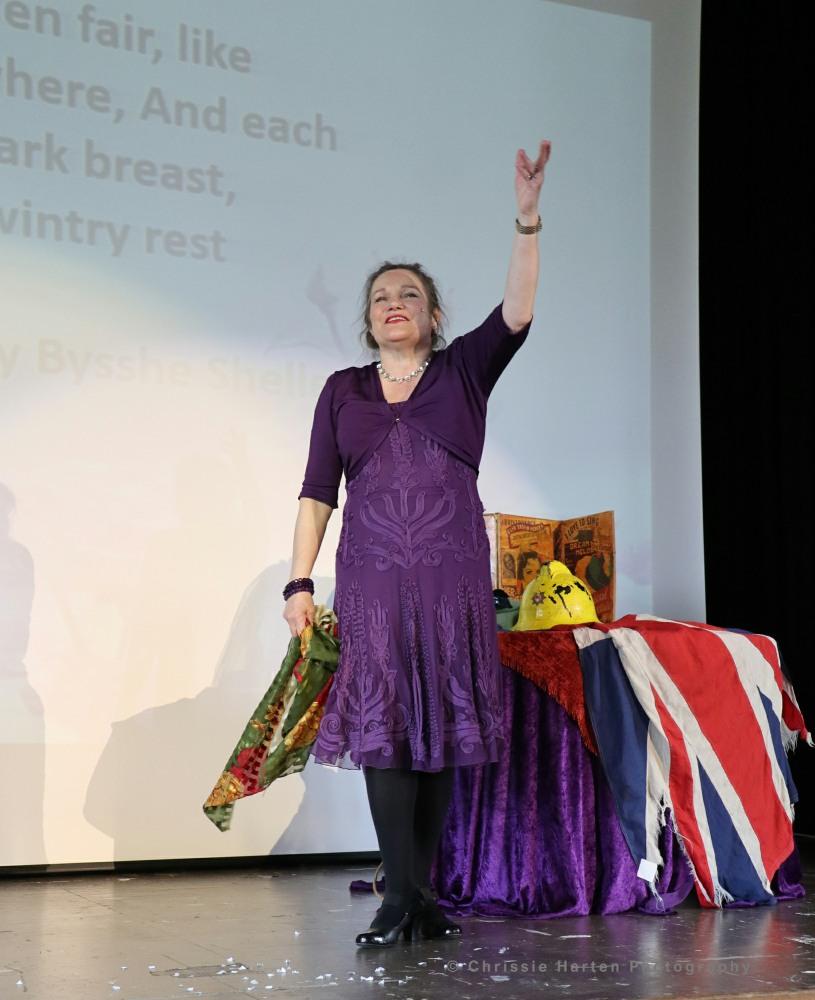 Judith Hibbert entertains!