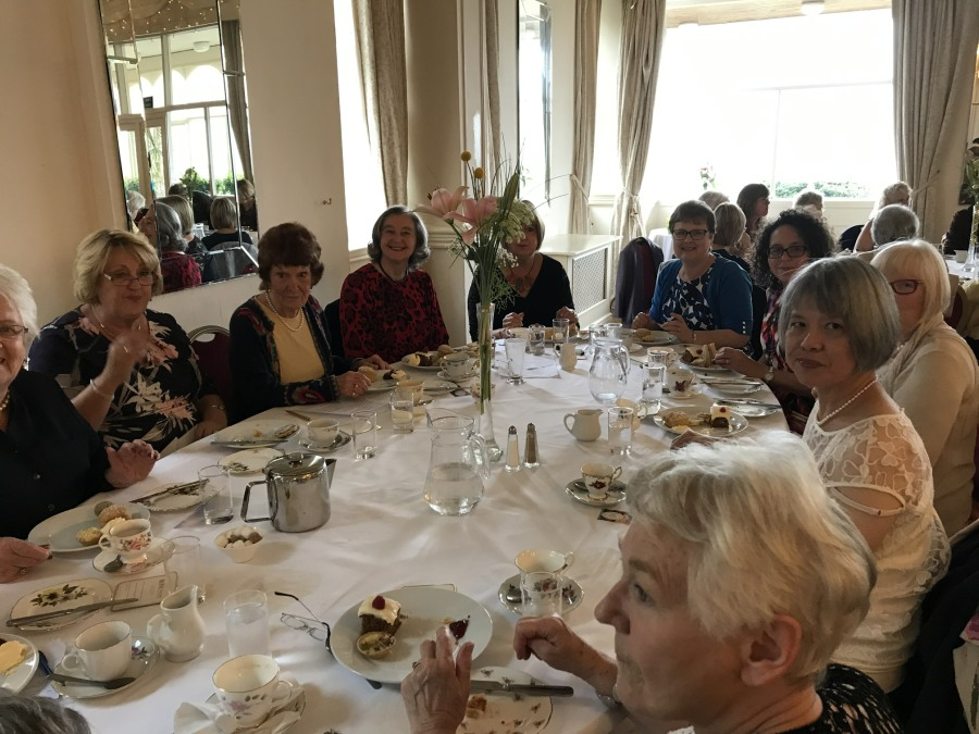 Afternoon Tea at The Manor, Crickhowell