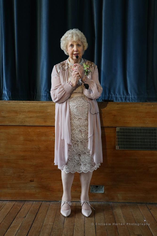 Area President Daphne Turner introduced Diane Fair