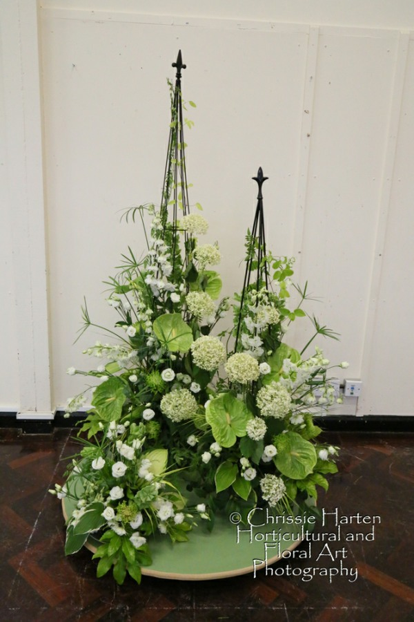 """Summer Magic"" (Club Class) - 2nd - Offenham Flower Club (Mary Liddell & Ros Harvey)"