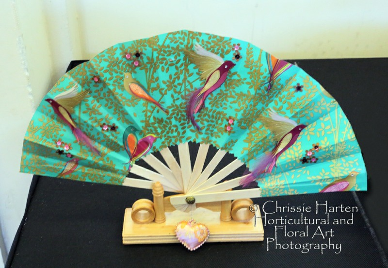 "Class 9 - ""Summer Breeze"" (Craft Class - A Fan) - Commended - Shirley Green"