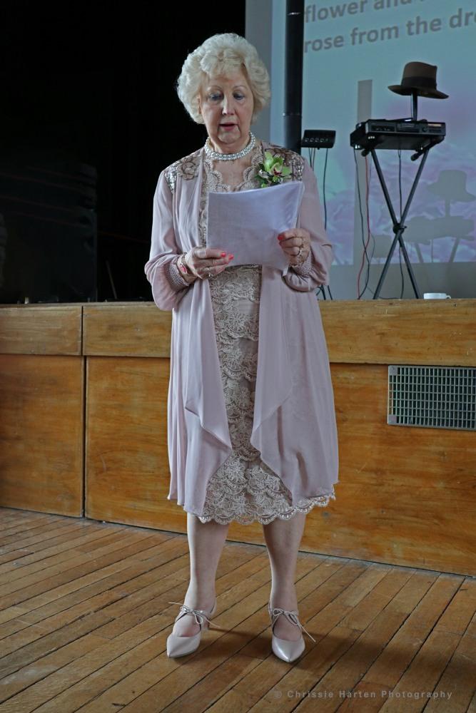 Our President, Daphne Turner, introduced Judith Hibbert